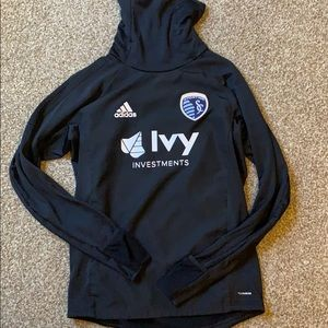 Sporting Kansas City Adidas Climawarm pull over